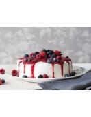 Нежный йогуртовый торт с вишней, от 1кг