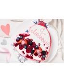 Праздничный торт из нежного суфле и ягод