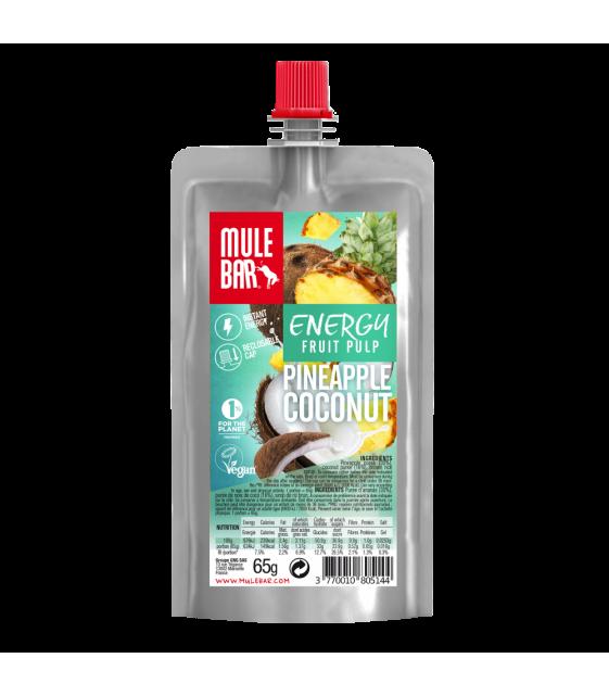 Органическое пюре ананас-кокос 65г MuleBar