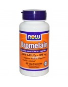 Bromelain Бромелайн 500 мг, 60 таб Now Foods