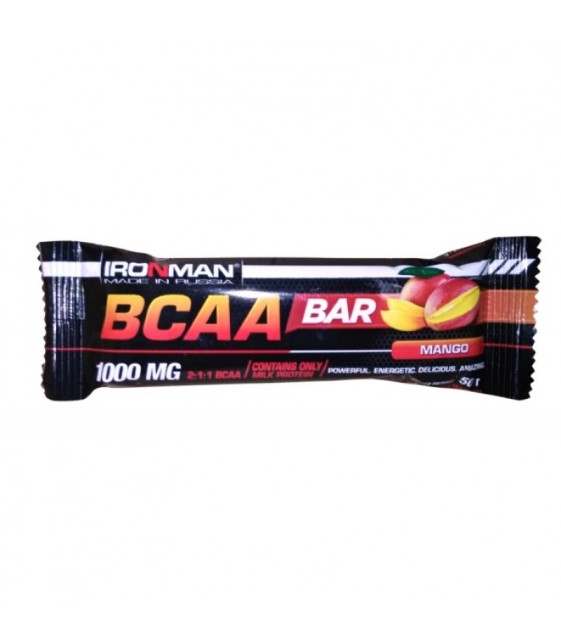 BCAA bar батончик БЦАА 50 г Ironman