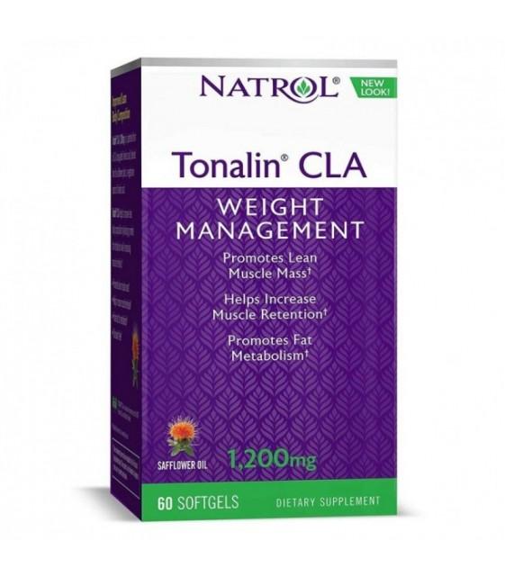 Tonalin CLA 1200 mg 60 softgels Тоналин КЛА Natrol