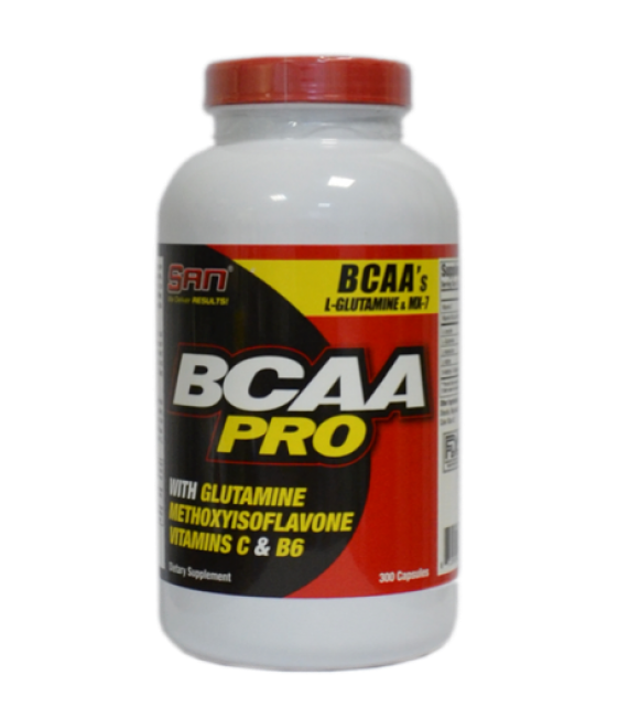 BCAA Pro/ БЦА Про 300 капс. SAN