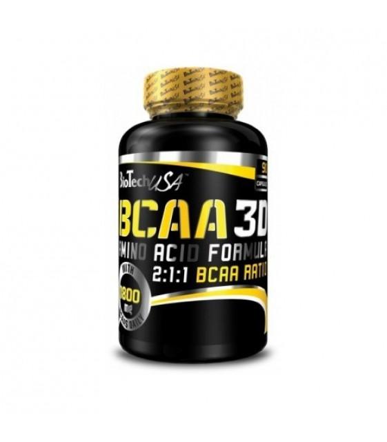 BCAA 3D/ БЦА Нано 3Д, 90 капс. Biotech USA