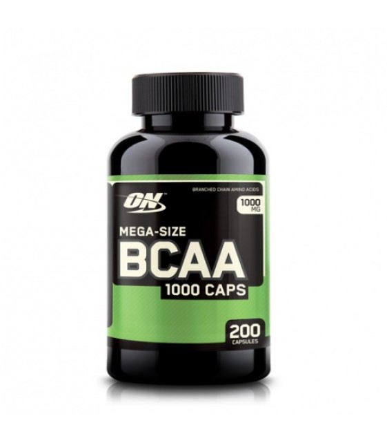 BCAA 1000/ БЦА 1000, 200 капс Optimum Nutrition
