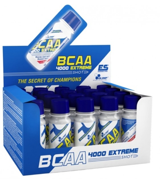 BCAA 4000 Extreme Shots БЦА 4000 Экстрем Шотс, 60 мл Olimp
