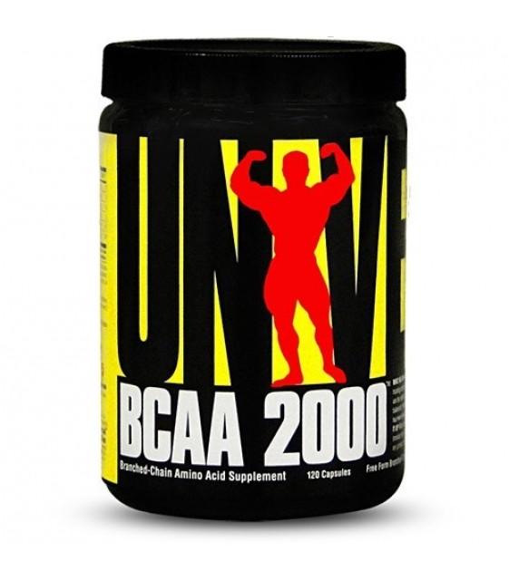 BCAA 2000/ БЦА 2000, 120 капс. Universal Nutrition