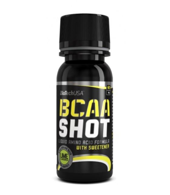 BCAA Shot, БЦА шот, 60 мл Biotech USA USA