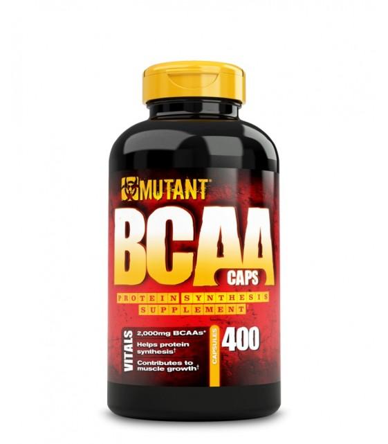 Mutant BCAA caps Мутан БЦА, 400 капс., MUTANT