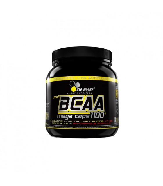 BCAA Mega caps 1100/ БЦА Мега Капс 300 капс. Olimp
