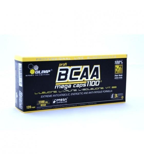 BCAA Mega caps/ БЦА Мега капс, 120 капс. Olimp
