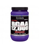 BCAA 12,000 Powder, БЦА 12,000 порошок 400 гр. Ultimate Nutrition