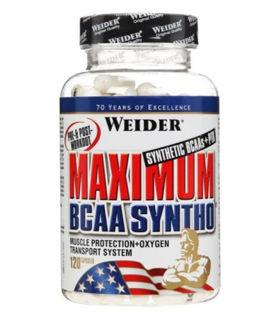Maximum BCAA Syntho/ Максимум БЦА синто 120 капс