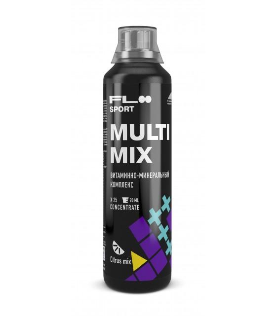 MultiMix Жидкий витаминно-минеральный комлекс, Citrus mix 500 ml
