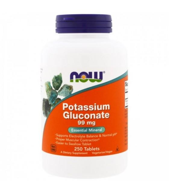 Potassium Gluconate Калий, 99 мг/250 табл