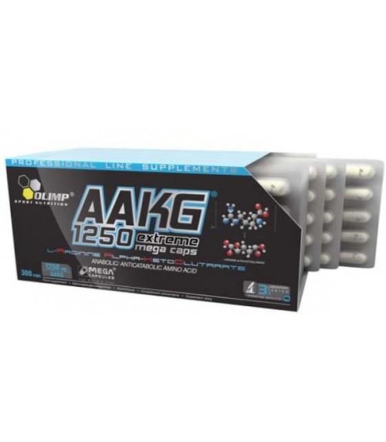 AAKG 1250 Mega Caps, 300 кап Olimp