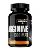 Arginine 1000 MAX, Аргинин 100 таб. Maxler