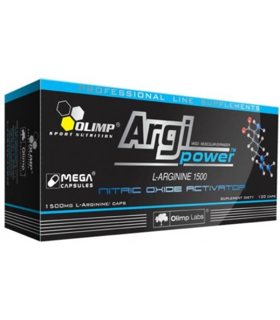 Argi Power Mega Caps Арги Пауэр 1500 мг/120 кап