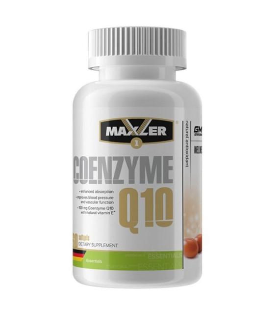 Coenzyme Q10, Кофермнент Q10 100 mg/60 капс Maxler