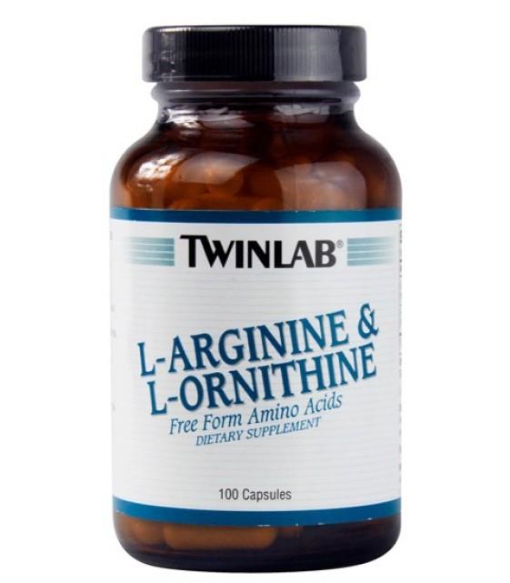 L-arginine & L-ornithine Аргинин-Орнитин 100 капс.