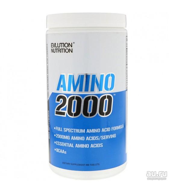 Amino 2000, Амино 2000, 480 tablets, Evlution Nutrition
