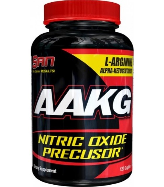 AAKG, Альфа-кетоглютарат аргинина120 капс. SAN