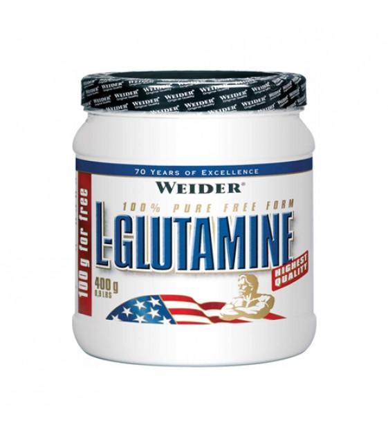 L-GLUTAMINE, Глютамин 400 гр. Weider