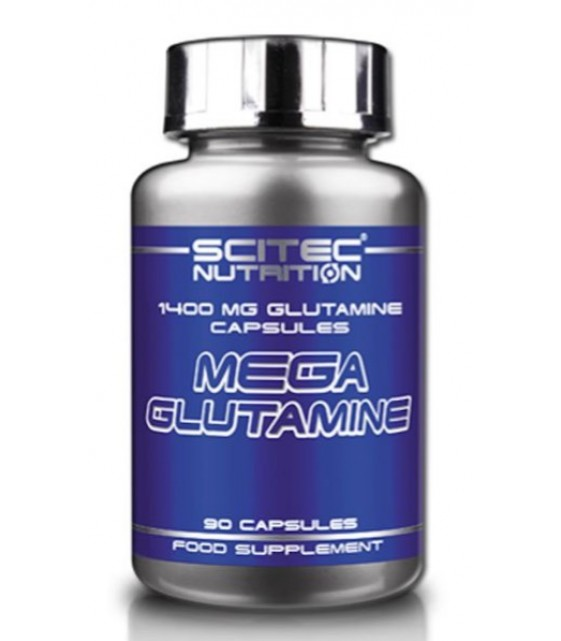 Mega Glutamine, Мега Глютамин 90 капс. Scitec Nutrition
