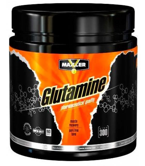 Glutamine, Глютамин 300 гр Maxler