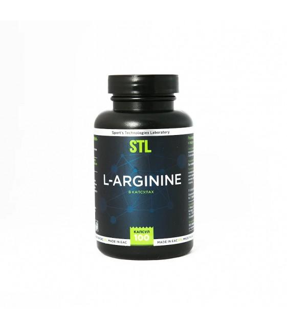 L-Arginine Аргинин 100 капс. STL