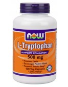 L-tryptophan Триптофан 500 мг, 120 капс. NOW