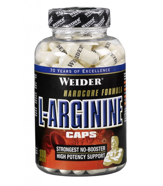 L-Arginine 100 капс, Weider