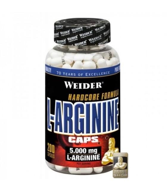L-Arginine 200 капс, Weider