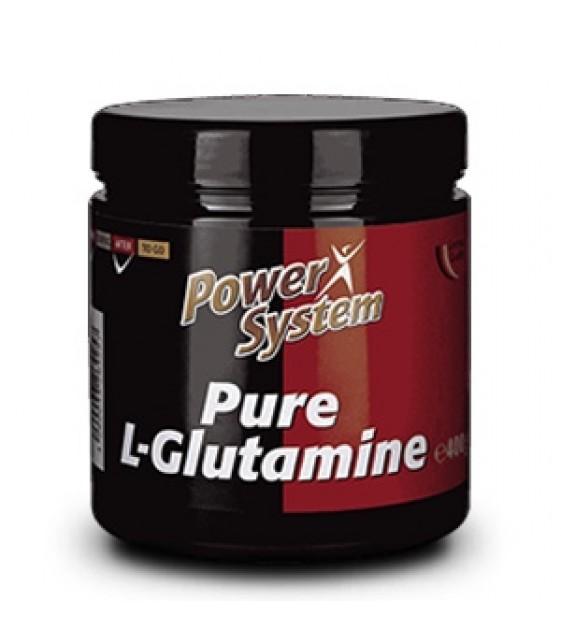 Pure L-Glutamine, Глютамин 400 гр. Power System