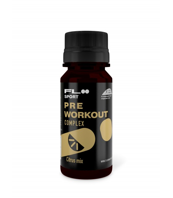 PRE WORKOUT Complex Citrus mix, 60 мл
