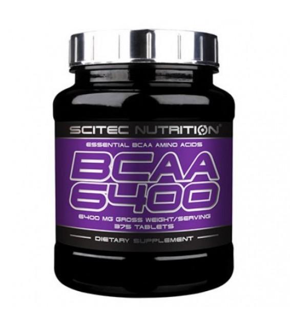BCAA 6400/ БЦА 6400, 125 табл Scitec Nutrition