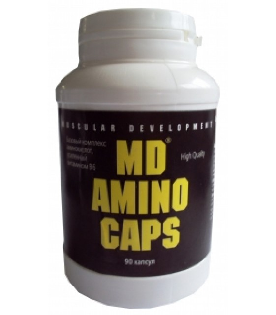 MD Amino Caps, Амино Капс 90 капс.