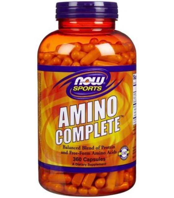 Amino Complete, Амино Комплит 360 капс. NOW