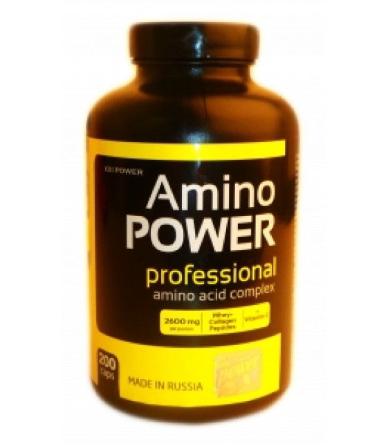 Amino Power Professional, Амино Пауэр 200 капс.