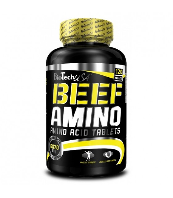 Beef Amino, Биф амино 120 таб Biotech USA