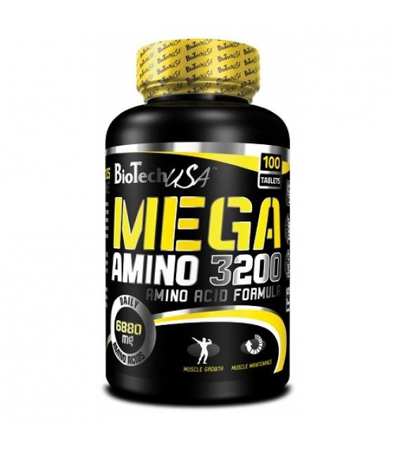 Mega Amino Мега Амино 3200, 100 табл
