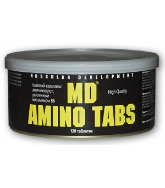 MD Амино табс Amino Tabs, 120 таб.