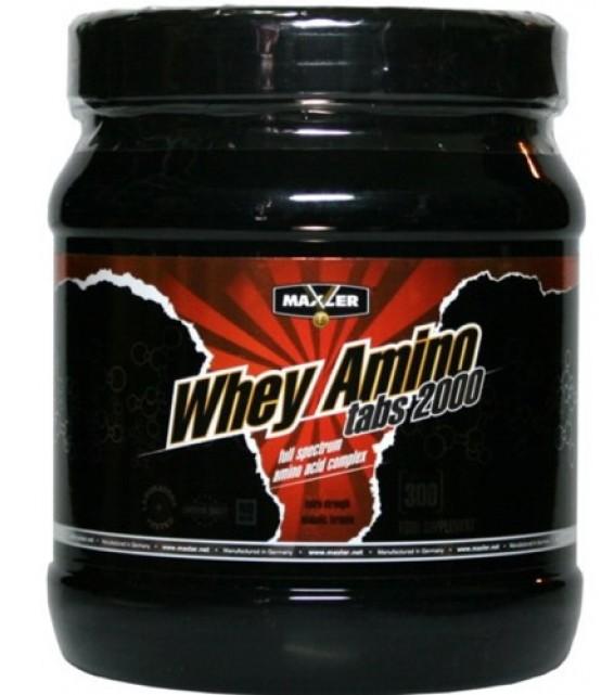 Whey Amino Tabs 2000 300 таб, Maxler