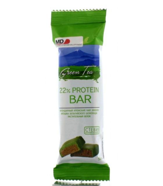 22% Protein Bar (vegan) батончик, 40 гр MD