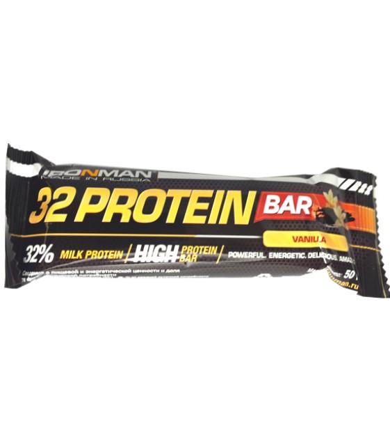 32% Protein Bar протеиновый батончик, 50 гр. Ironman