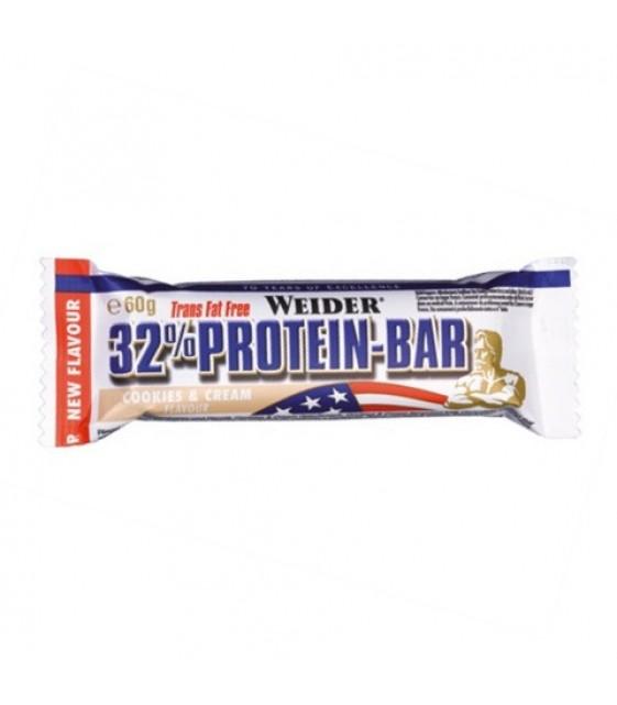 32% Protein Bar Протеин бар, 60 гр Weider