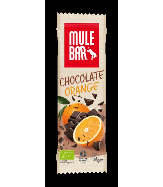 """Mule Bar Шоколадный с апельсином """"Джимми"""", 40 гр"""