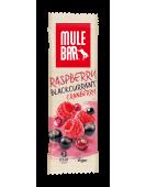 Mule Bar Летний пудинг, с малиной, черной смородиной и клюквой, злаковый батончик 40 гр