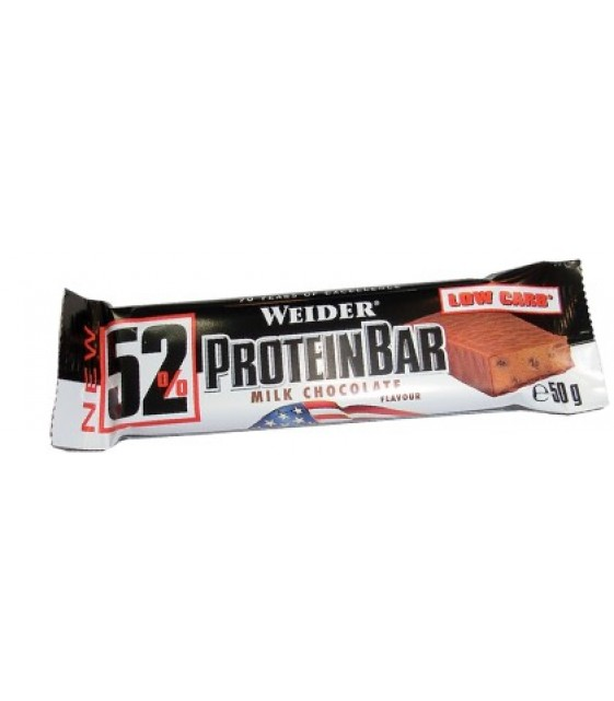 52% Protein Bar, Протеин бар, 50 гр. Weider