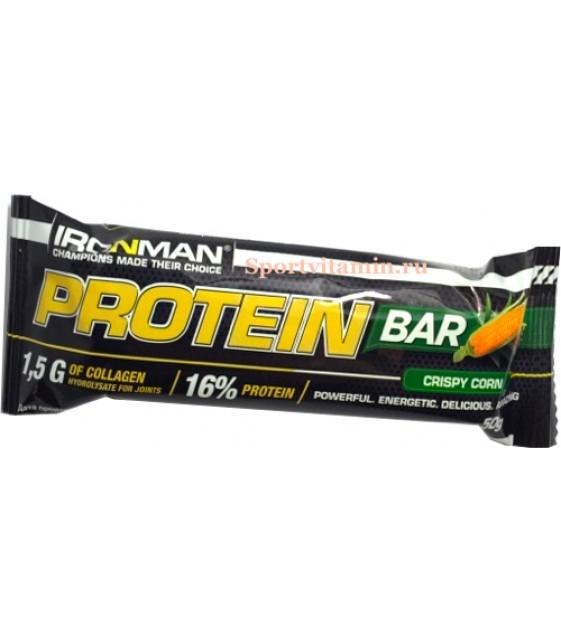 Protein Bar Протеин бар с коллагеном, 50 гр. Ironman